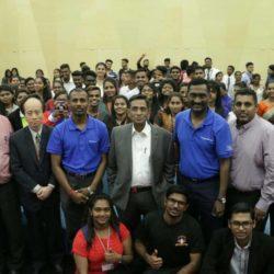 பெட்டாலிங் ஜெயா சிட்டி பலகலைக்கழகத்தில் Inspire 2 Aspire நிகழ்வு