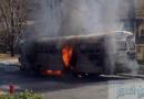 சீனாவில் பேருந்து தீப்பிடித்து எரிந்ததில் 14 பேர் பலி